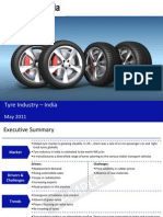 Tyre Industry in India 2011-Sample