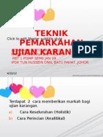 TEKNIK PERMAKARHAN BMM 3103