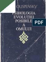 Evolutia Posibila a Omului - P. D. Ouspensky