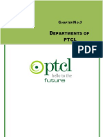 Chapter-3 Departments of Ptcl