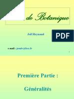 Cours Botanique 2009 2010 Web Partie 1