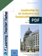 Berlin LTN 2011 Conference Brochure