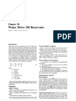 Water Drive Oil Reservoirs