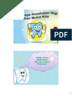 Leatflet Kesehatan Gigi Dan Mulut