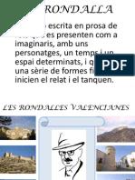 Rondalles Valencianes. Classificació