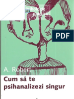 7502123 Andree Roberti Cum Sa Te Psihanalizezi de Unul Singur