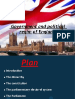 The British Govenment an Politi