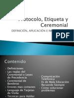 Protocolo Etiqueta y Ceremonial