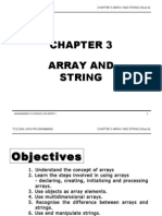 TCS2044 Chapter3 Array and String Week6
