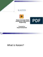 Kaizen PPT by Gopal k. Dixit
