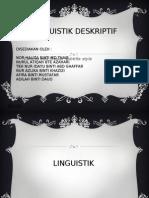LINGUISTIK DESKRIPTIF