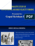 High Velocity Forming by Gopal k.dixit