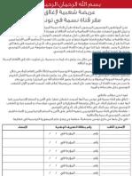 العريضة من أجل إغلاق مقر قناة نقمة بتونس