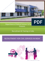 Recruitment & Training in India