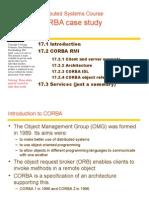 Chapter 17-CORBA Case Study