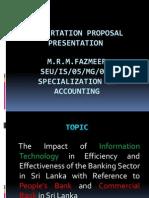 Dissertation Proposal Presentation Fazmeer