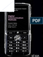NQGA Digital Communication Methods Student Notes