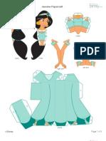 Jasmine 3D para Montar