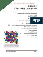 Unidad de Estructura Primera Parte