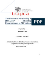 Analytical Paper Trade Negotiation