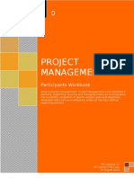 Participants Workbook Project Management