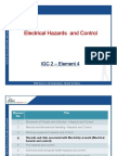 Presentation (Element-4 Electrical Hazards & Control)