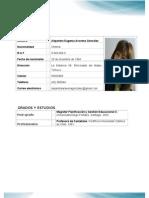 Curriculum Alejandra Aravena