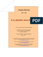 Darwin - Les Plantes Insectivores