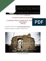 Mausoleo di Elena di Gabriella Cetorelli Schivo Parte III
