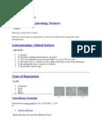 Mnemonics Forensic Medicine