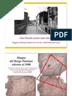 Fotostoria del quartiere Pantano di Pesaro