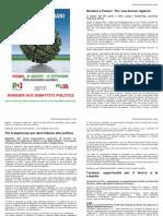 """""""L'Italia di domani"""" - Sintesi della Festa Democratica 2011"""