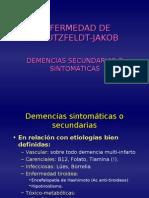 13-12 Demencias II Enfermedad de Creutzfeldt Jakob