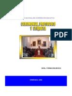 Ceremonial Etiqueta y Protocolo