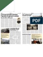 Speciale per i 100 anni dalla nascita di Padre Pietro Damiani