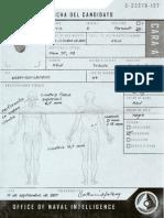 Registros Parciales de Los Candidatos a Spartan II. Carris. A