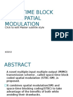 63981776 Space Time Block Code Spatial Modulation