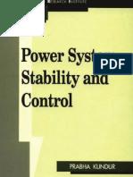 Power System Stability and Control-Prabha Kundur