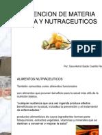 Obtencion de Materia Prima y Nutraceuticos