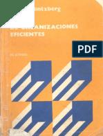 Diseño de organizaciones eficientes - Henry Mintzberg