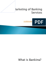 Marketing of Banking Services