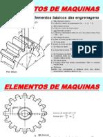 Apresentação Elementos de Máquinas