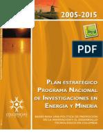 Plan Estrategico CTI Energia 2005-2015