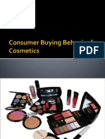 Consumer Buying Behavior for Cosmetics
