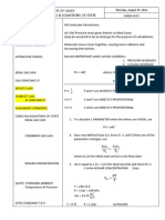 Survey of Physical Chemistry Notes - Review