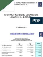 Presentacion Situación Financiera Usach a Junio 2011 - 24 de agosto de 2011