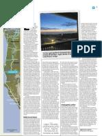 Costa de Oregón, Tras las huellas de la psicodelia, texto
