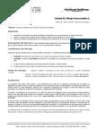 Brief Unidad III - Dibujo Axonométrico