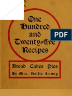 [1915] Immig, Nellie - One Hundred and Twenty-Five Bread, Cakes, Pies