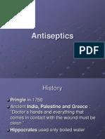 Antiseptics a Sep Tics